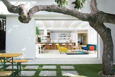 1920's Stucco Bungalow Renovated for Two Actors in Los Angeles