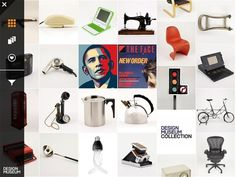 Design Museum Collection #collection #layout