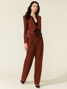 Robert Rodriguez Pleated Wide Leg Pant #fashion #suit #gilt