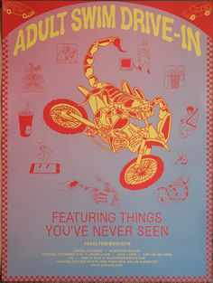 Adult Swim Drive-In Poster