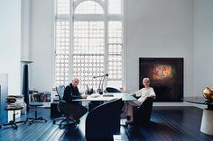 Cross-Media Impresarios Massimo and Lella Vignelli - Design 2007 -- New York Magazine #massimo #vignellis #lella #vignelli