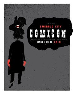 The 8th Annual Emerald City ComiCon #poster