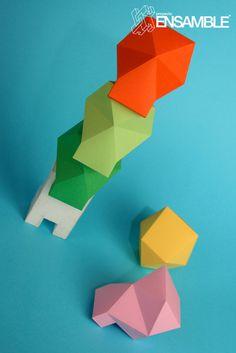 papertoy4 #toys #designer #art #papercraft #paper