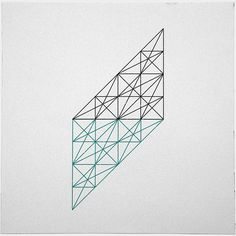 #232 The mad architect – A new minimal geometric composition each day