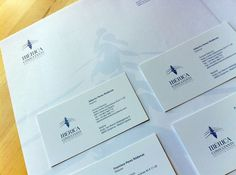 IBERICA CONSULTANTS on the Behance Network #branding #stationery