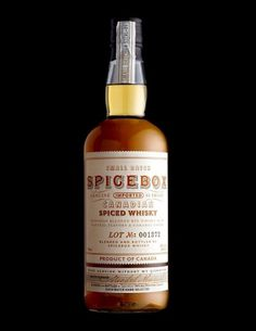 Spicebox | Lovely Package #packaging #liquor #typography