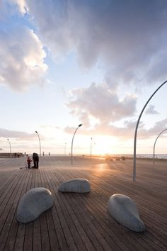 mayslits kassif architects: tel aviv port public space - wins rosa barba european landscape prize #photography #architecture #sculpture