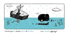 Chubasco » Pablo Cabrera #illustration