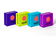 Nixit period Identity & Packaging - Mindsparkle Mag Nixit challenged Designsake Studio to develop the company's brand identity and packaging, asking for a fresh approach to an otherwise considered 'gross' alternative to typical period products. #packaging #logo #identity #branding #design #color #photography #graphic #design #gallery #blog #project #mindsparkle #mag #beautiful #portfolio #designer