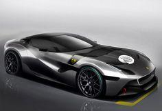 Ferrari SP Arya Car #tech #amazing #modern #design #futuristic #gadget #craft #illustration #industrial #concept #art #cool