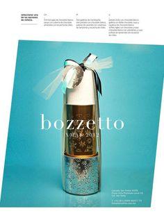 XMAS 12 by Bozzetto on Behance #boxes #silver #aqua #gold