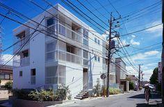 Komorebi Terrace Inokashira by Naoya Kawabe Architect and Associates #minimalist #house #minimalism