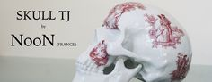 porcelain skull by NooN x K.Olin tribu ( Porcelain Limoges, France ) #france #porcelain #porcelaine #limoges #skull