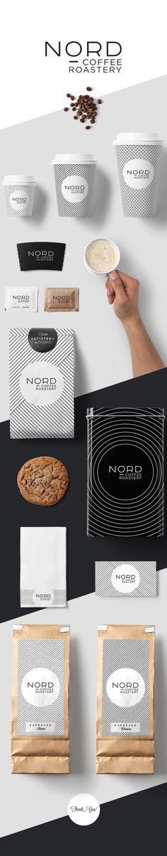 NORD Coffee Roastery by Kutan URAL #coffee #identity #packaging
