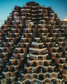 Weird and Majestic Architecture of China by Yu aka 5.12