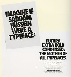 All sizes | TDC Typography scan | Flickr - Photo Sharing! #futura #typeface