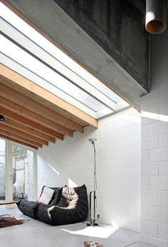CJWHO ™ (House 12k / Dierendonck Blancke Architecten) #white #design #interiors #belgium #architecture #light