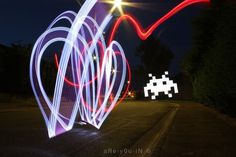 Photography by Alexandre Bordereau #inspiration #photography #lightpainting