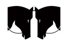 Darkhorse Visual Mark #logo #mark #branding #identity #logodesign #horse #head #minimal #brandmark #identity