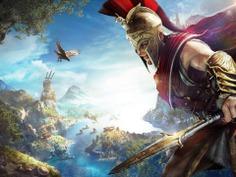 ArtStation - Assassin's Creed Odyssey - KEYART2, seed Seven