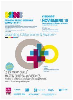 visiones fashion trend seminar/ menthol™ #flyer #design #graphic #seminar #poster #fashion #menthol #trend #style