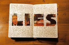 Inside the sketchbook of a designer « Below The Clouds #sketchbook #lies #bush #sagmeister