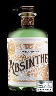 DESIGN IS MY PASSION #packaging #liquor #vintage #gold #style