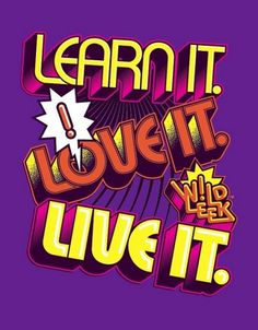LEARN IT. LOVE IT. LIVE IT. | Flickr: Intercambio de fotos #lettering