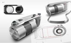 Amazing Braun Camera Industrial Design by Pierre Francoz - Braun Pivo