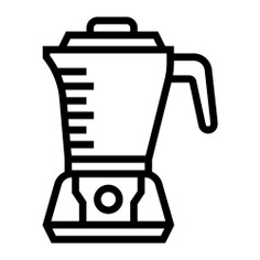 See more icon inspiration related to blender, mixer, food and restaurant, furniture and household, electrical appliance, kitchenware, kitchen tools, electronics, cooking, food and technology on Flaticon.