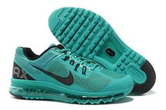 Nike Air Max 2013 Bright Turquoise Black Womens Shoes