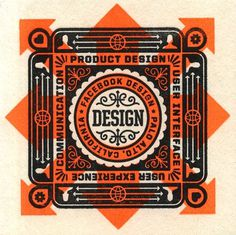 Facebook Design Coasters | The Graphic Works of Ben Barry #badge