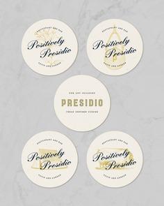 Restaurant Coasters Design – Presidio #restaurant #coaster #design #houston