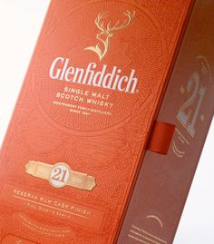 Image result for glenfiddich orange box