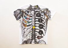 #illustration #anatomy #shirts