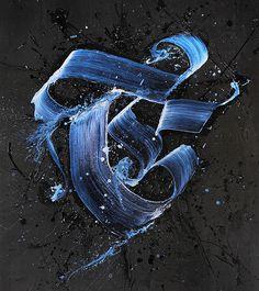 Calligraffiti by Niels Shoe Meulman 4 #street art #calligraffiti #calligraphy #graffiti #typography #text