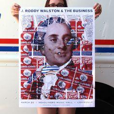 J Roddy Special Edition - Feature #j #burn #print #roddy #screen #fireworks #poster #walston