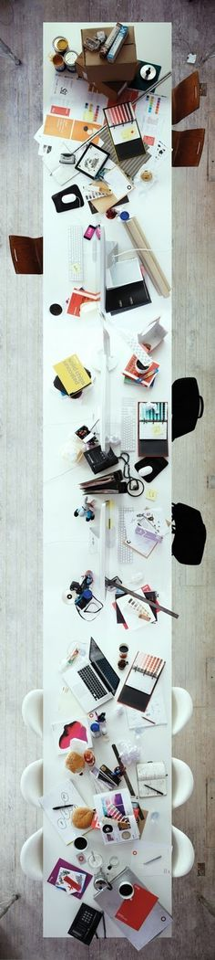 Image Spark - Image tagged #interior #desk #topview
