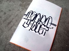 eyeone | seeking heaven #tempt #zine #graffiti #design #one #typography
