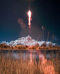 Flickr Finds No. 36 #nasa #space #rocket #lake #light