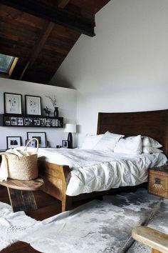 Likes | Tumblr #interior #bed #paintings