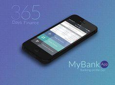 Bank Mobile App UI Design