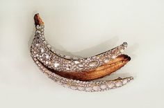 what-i-like-lélé #diamond #fruit #banana #jewellery