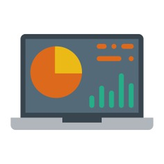 See more icon inspiration related to laptop, graphic, computer, analytics, business, stats, seo and web and computering on Flaticon.