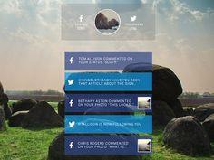 Social Hub - Main Stream Page #facebook #twitter #social