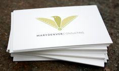 Cocoon Industries :: Mary Denver Consulting #business #branding #icon #card #bird #brand #logo #green