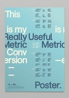 Mash Creative - Portfolio - Really Useful Pt.1 #poster #typography