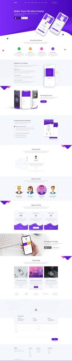 APPOS – Creative App Landing Template