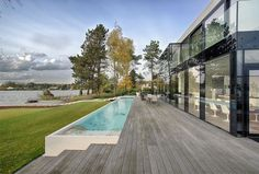 Cube Shaped Glass House by BBSC-Architects -  #architecture, #house, #home, home, architecture