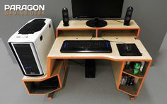 Furniture PARAGON Gaming Desk Styles